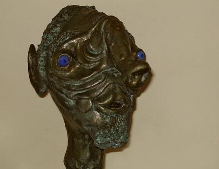 Rinvenuta una testa di bronzo a San Francisco di 6000 anni fa con fattezze aliene